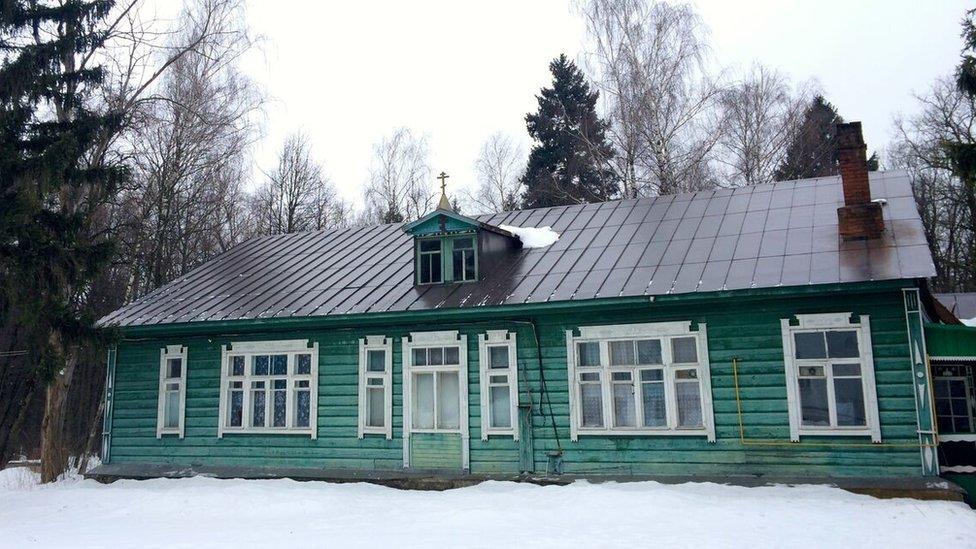 Kommunarka, once the summer house of Gennrich Yagoda (February 2016)