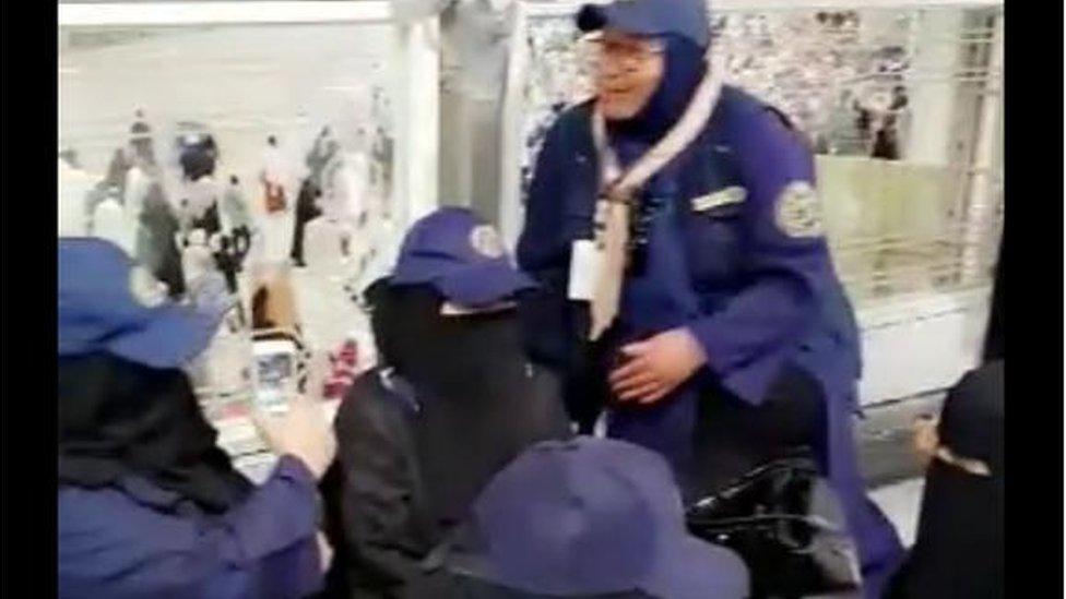 شادية بنت غزالي تعمل في خدمة الحجيج على مدى اثنين وستين عاما