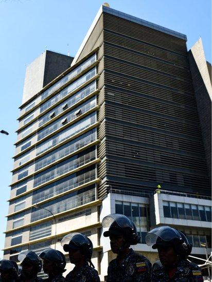 Sede del Servicio Bolivariana de Inteligencia.