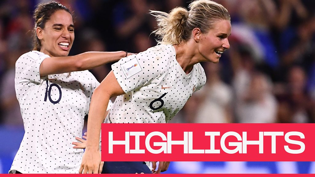 Women's World Cup 2019: France secure place in last 16 with extra-time win over Brazil