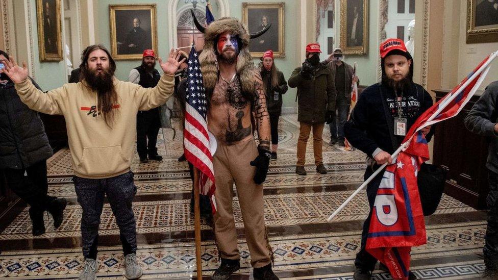 Disturbios en el Capitolio