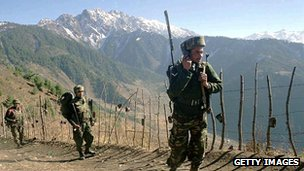 Indian troops on Line of Control