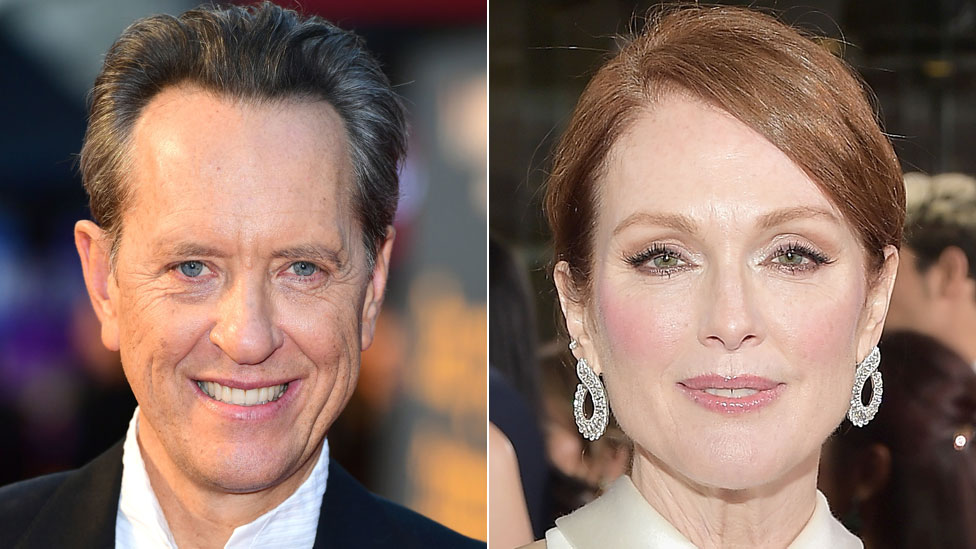 Richard E Grant spills beans on Julianne Moore film exit