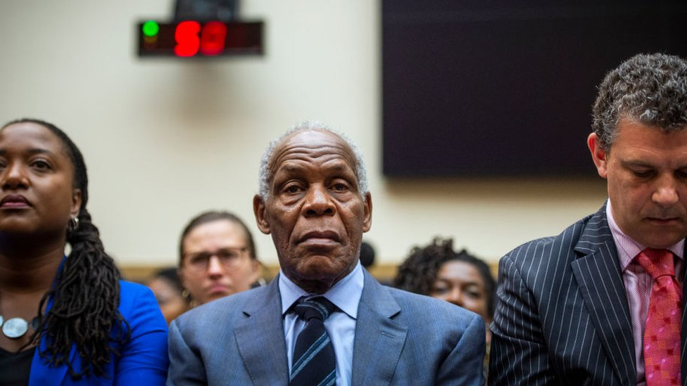 Actor Danny Glover testified in favour of reparations