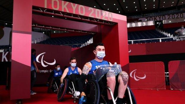 El equipo de rugby en silla de ruedas de Nueva Zelanda
