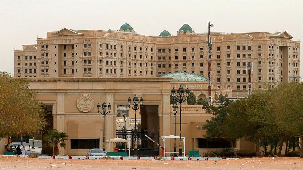 فندق الريتز في الرياض