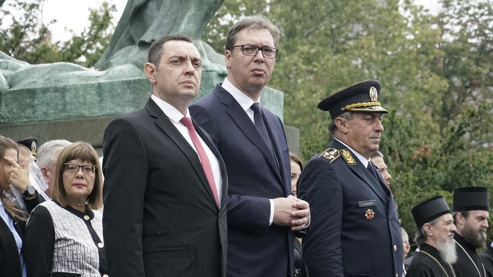 Aleskandar Vučić i Aleksandar Vulin