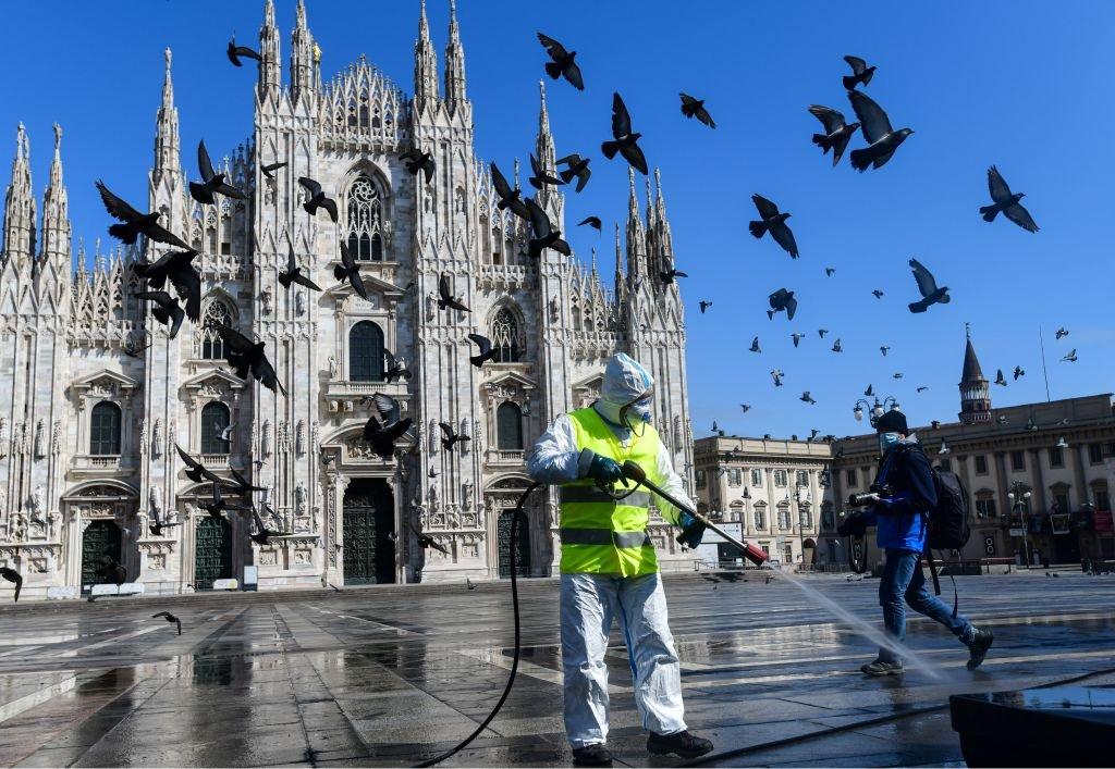Milano koronavirüs