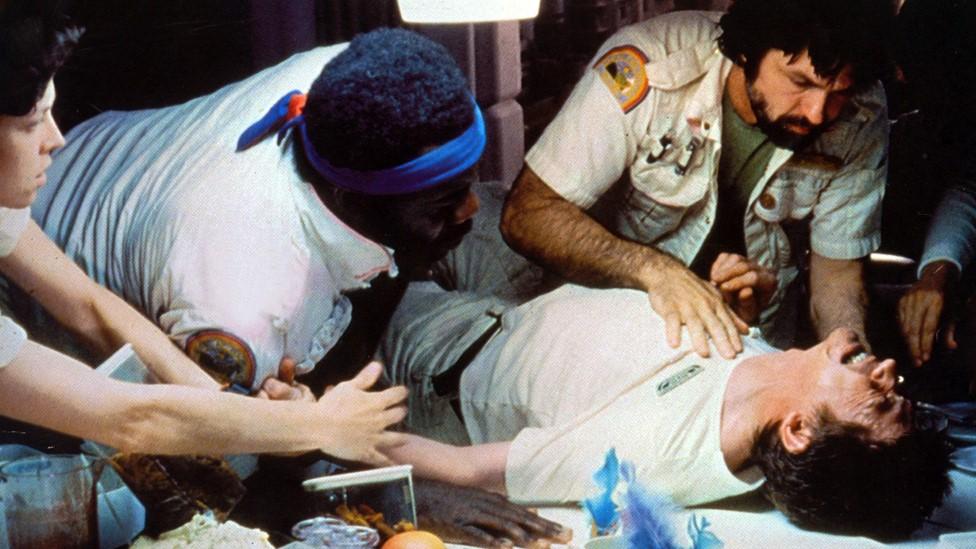 Still of John Hurt in Alien