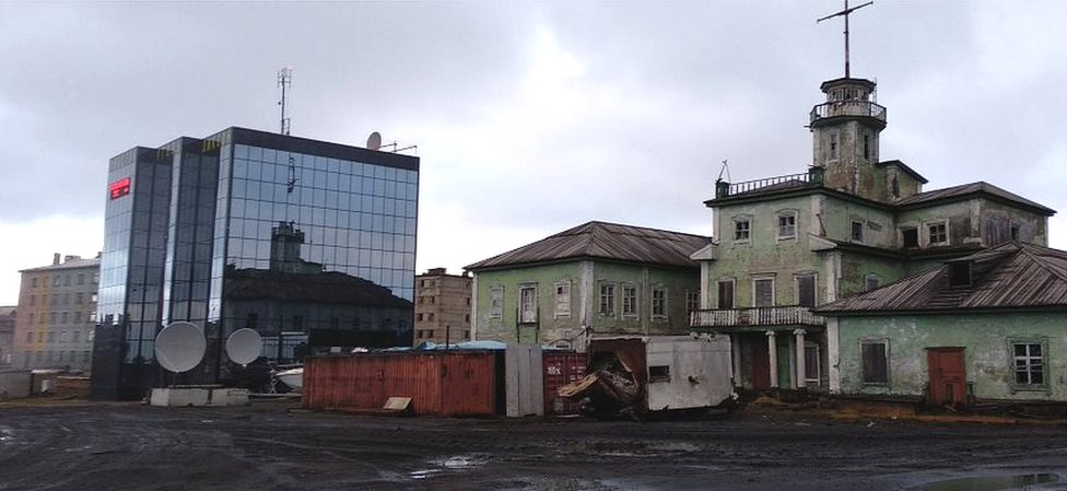 Vostokugol HQ in Dikson