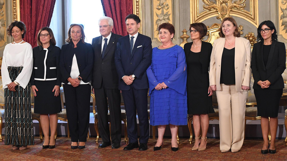 Italy's seven new women ministers, 5 Sep 19