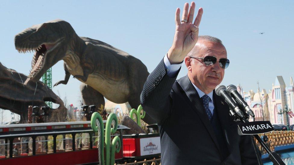 Cumhurbaşkanı Erdoğan, Ankarapark'ın açılışında