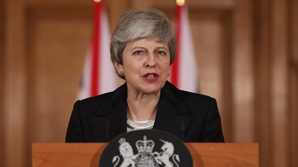 Theresa May: 'I am not prepared to delay Brexit any further'