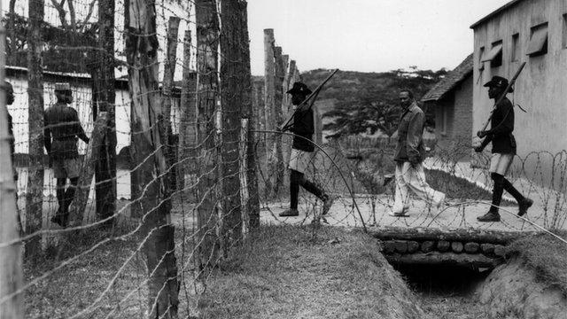 Mau Mau detention camp