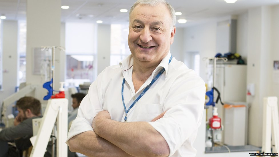 Royal Marsden's leading cancer expert Martin Gore dies