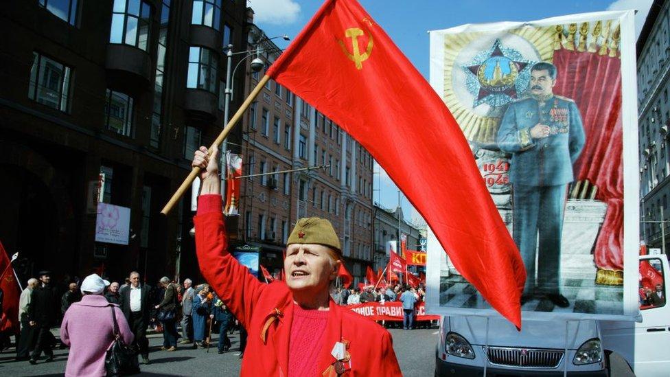 Celebración del Día de la Victoria en Rusia en 2006