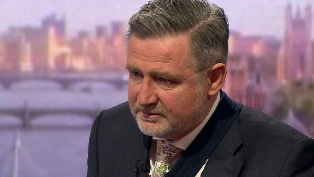 Brexit: MP Barry Gardiner pressed on 'playing up' remark