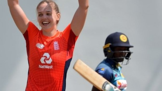 England thrash Sri Lanka in first women's T20 after hosts dismissed for 94