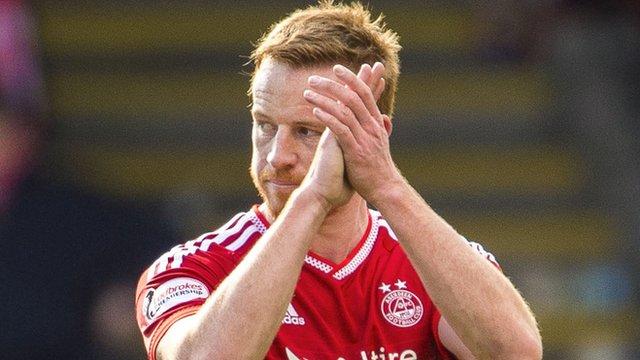 Aberdeen forward Adam Rooney