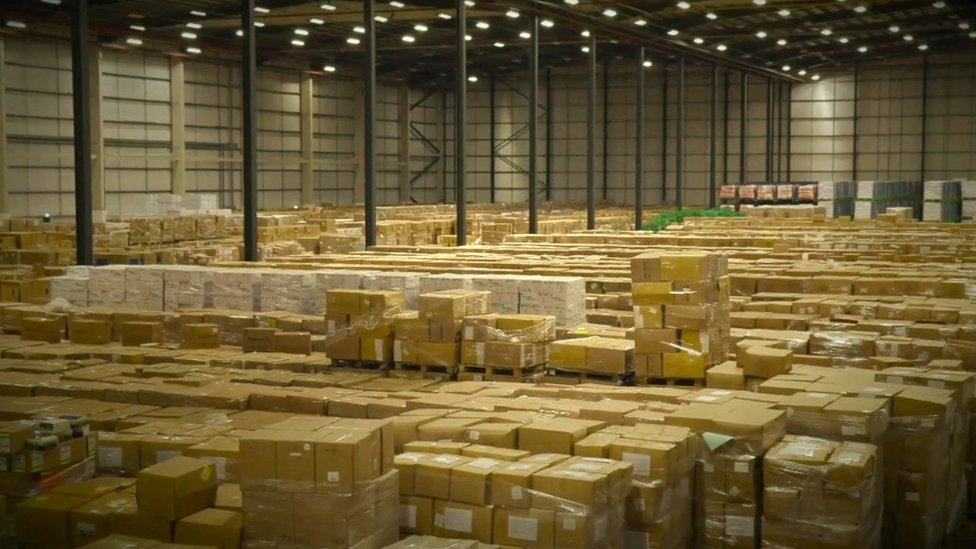 NHS Supply Chain hub warehouse facility in Daventry