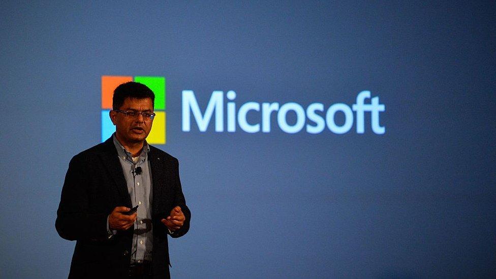 El director de la división de negocios de Windows, Vineet Duran