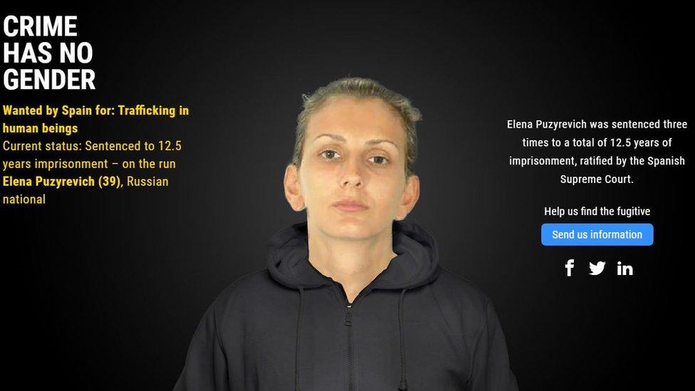 Europol's Crime Has No Gender campaign