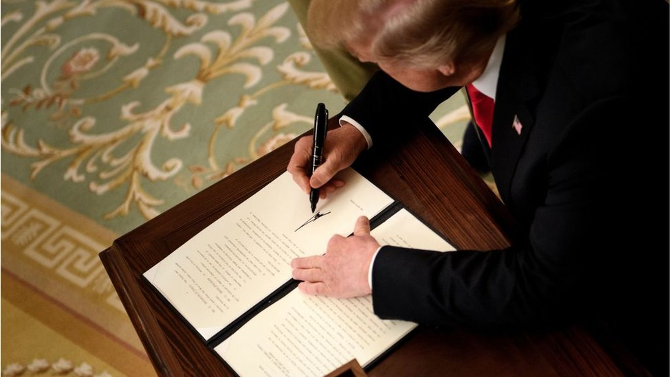 Trump'ın kararnamesinin Anayasa'nın 14. maddesinin yorumlanma şeklini değiştirebileceği ifade ediliyor.