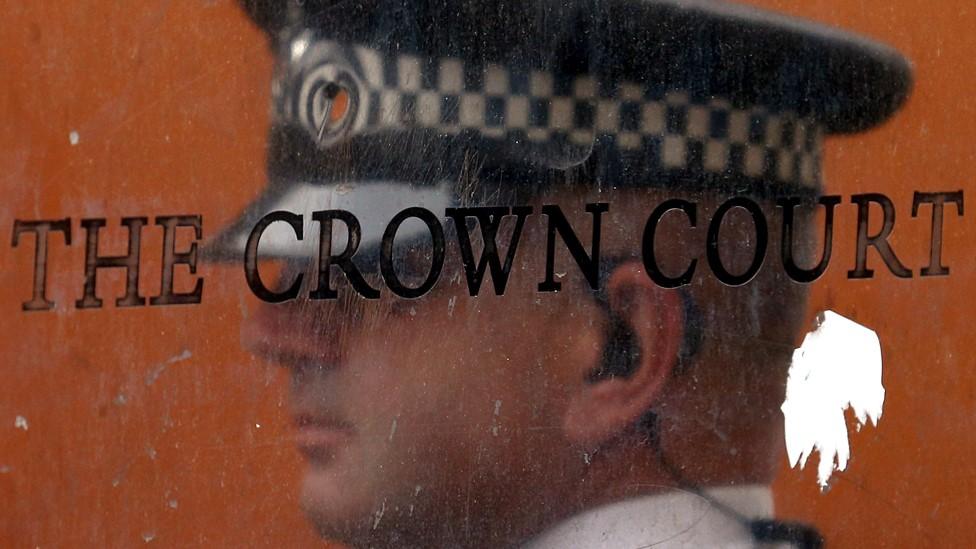 Crown Court sign