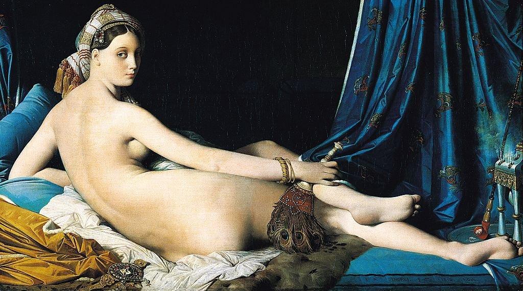 La Grande Odalisque, de Jean Auguste Dominique Ingres