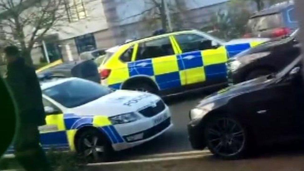 سيارت الشرطة البريطانية
