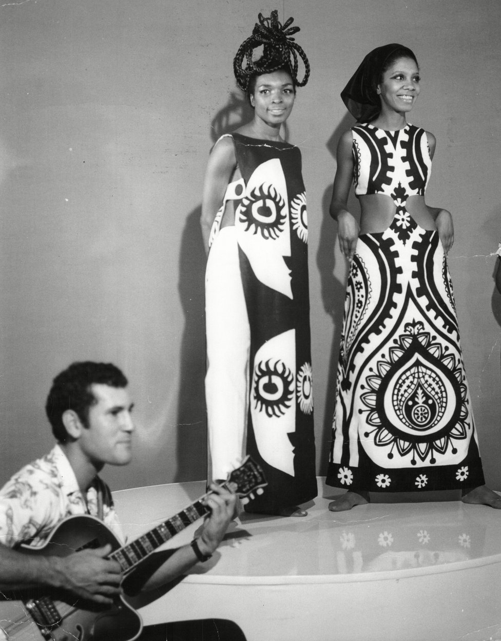 Barbara Blake Hannah wearing some fashionable designer clothes