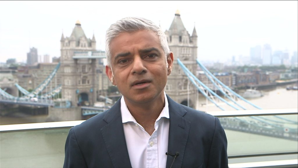 Sadiq Khan: 'It's not for me to be the censor'