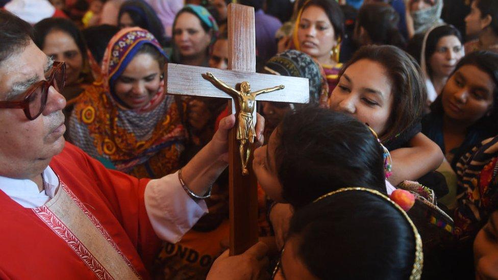 Kaum Kristen Pakistan