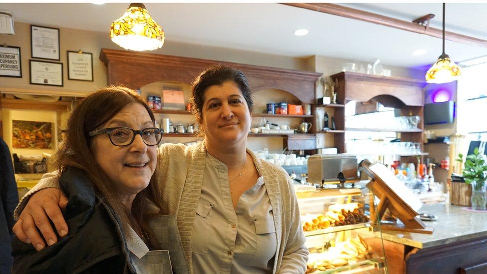 Gianna Cerbone y Donna Dimer