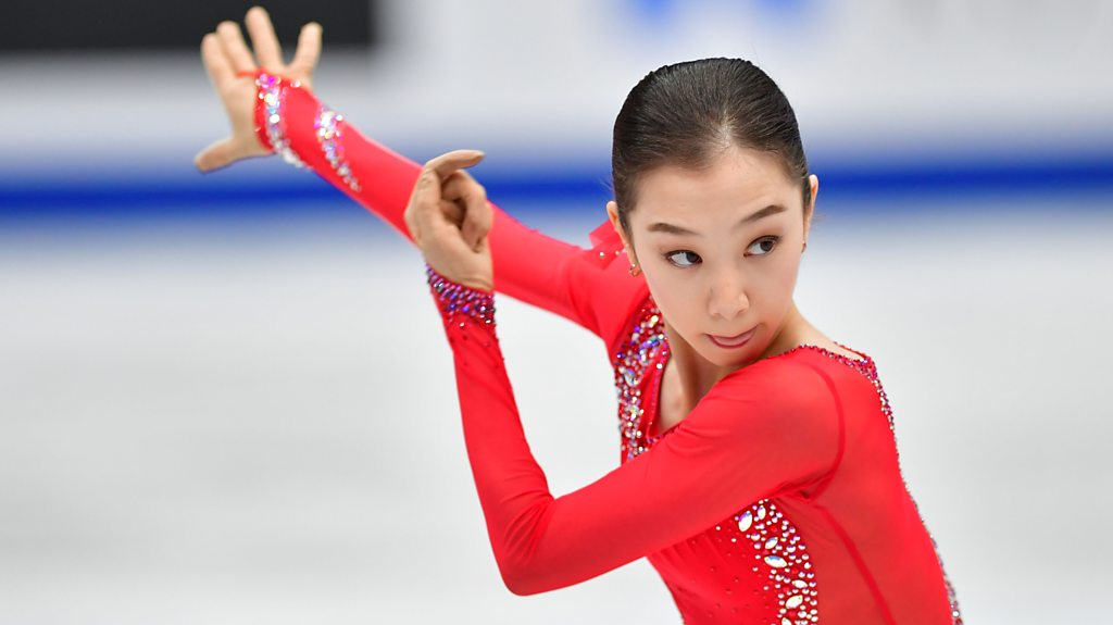 World Figure Skating Champs: Elizabet Tursynbaeva first woman to complete quadruple Salchow in competition