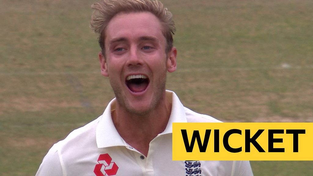 Watch: Brilliant Broad inswinger removes Pujara's off stump