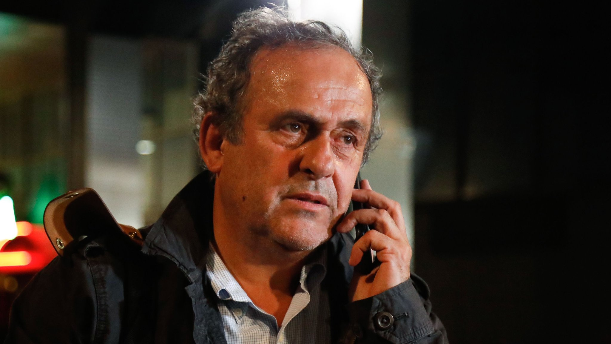 Michel Platini released after being questioned over awarding of World Cup to Qatar