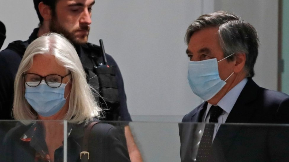 Fillon and wife in court, 29 Jun 20