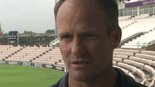 Hampshire coach Dale Benkenstein