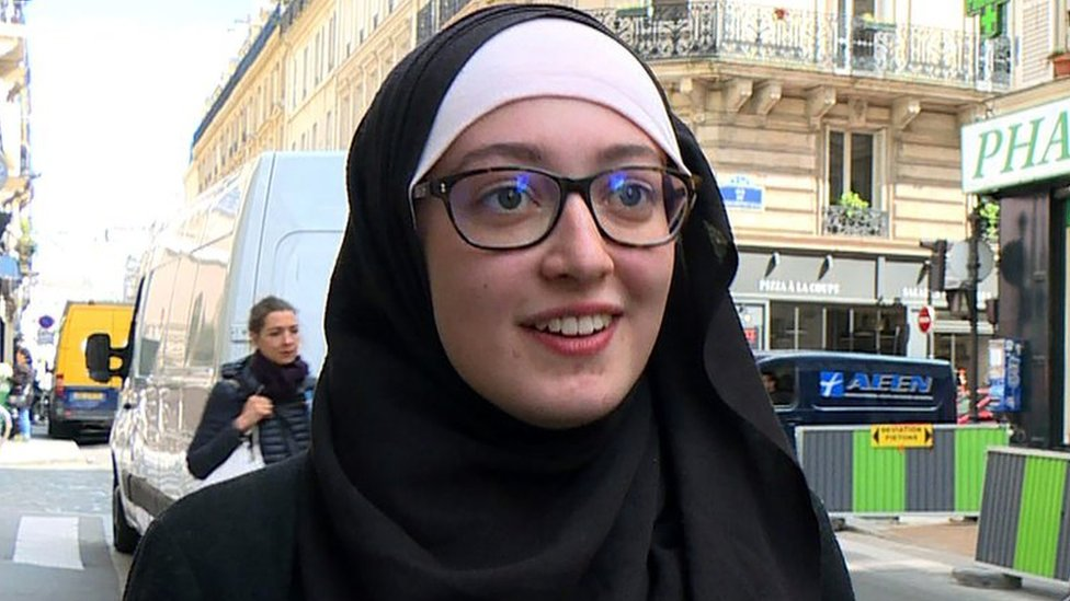 French Muslim student Maryam Pougetoux hits back over headscarf claims