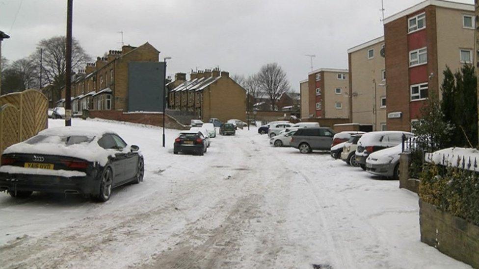 Well Street in Farsley