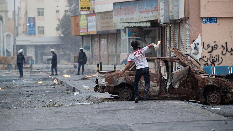 bahreyndeki çatışmalar
