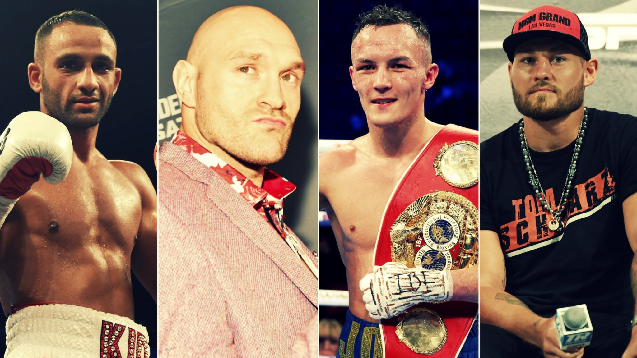 Fury's chin worries & Warrington's US dream - Saturday night boxing preview