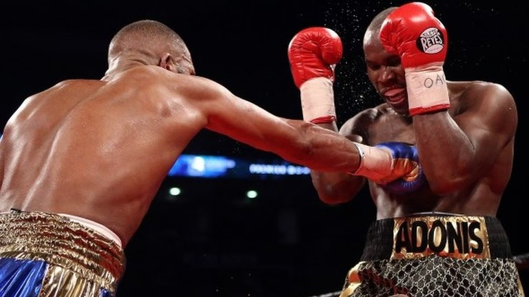 Adonis Stevenson retains WBC title after majority draw with Badou Jack
