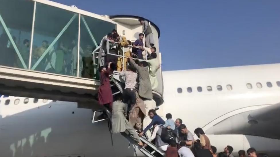 Fotos del aeropuerto de Kabul