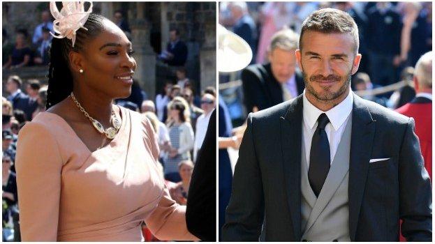 Williams and Beckham among sports stars at Royal Wedding