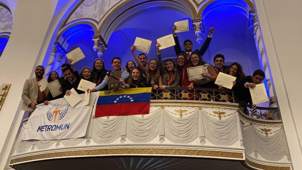 Los estudiantes venezolanos en Harvard