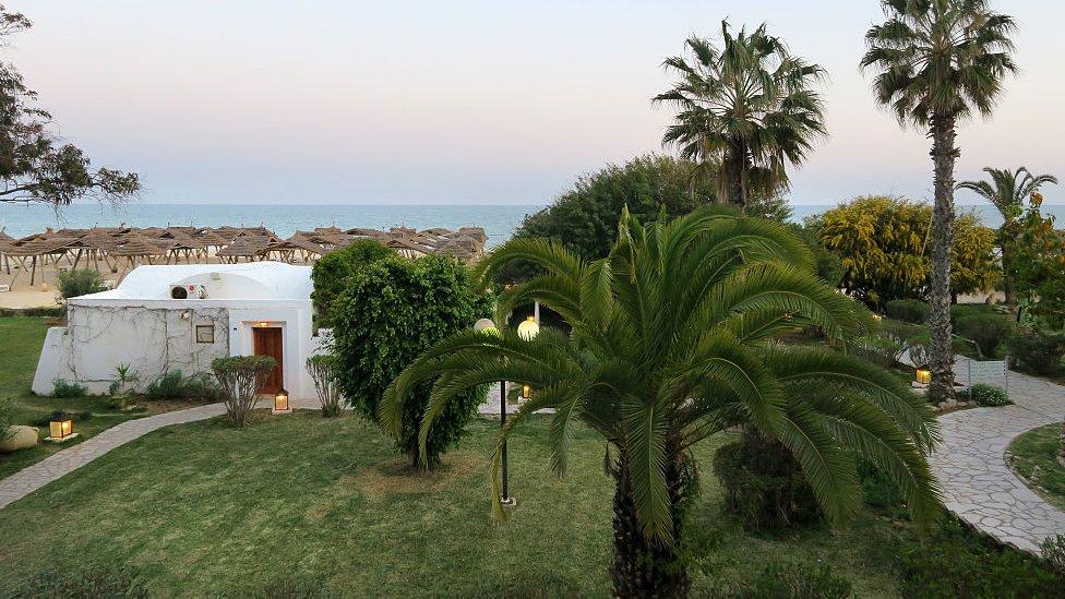 Les Orangers Beach Resort, Tunisia