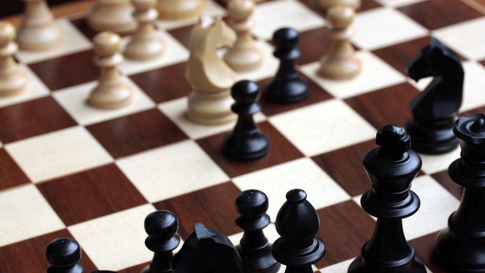 satranç tahtası fotoğrafı