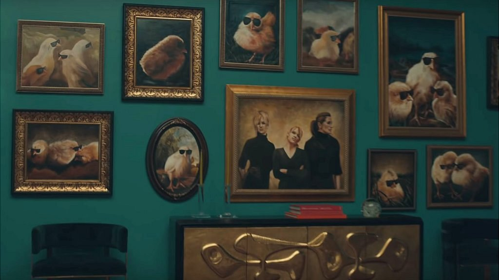 Dixie Chicks in the Taylor Swift video